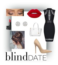 """""""Blind Date"""" by ericastiles on Polyvore featuring Jimmy Choo, NARS Cosmetics, Michael Kors and Accessorize"""