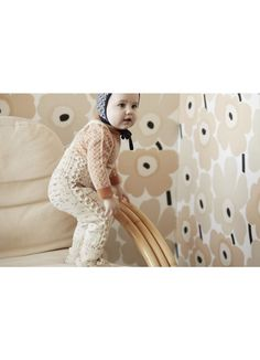 Sapling Suspenders / Baby + Prism Boatneck / Baby + Prism Bonnet / Baby - Misha and Puff