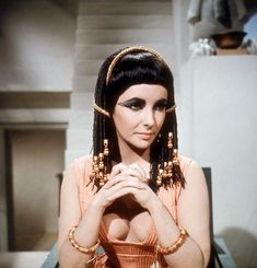 Irene Sharaff costume for Elizabeth Taylor in Cleopatra directed by Joseph L. Mankiewicz, 1963