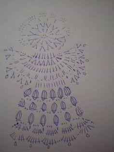 Moje wzory - Janina Brunka - Picasa Web Albums - Her Crochet Crochet Angel Pattern, Crochet Angels, Crochet Motif, Crochet Doilies, Crochet Christmas Ornaments, Christmas Crochet Patterns, Crochet Snowflakes, Christmas Angels, Thread Crochet
