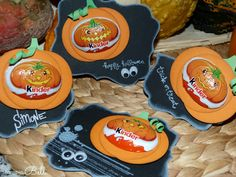 Punch Art Kürbis stampin' Up! Goodie happy Halloween