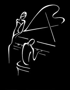 That jazz singer/piano thing ; Sound Of Music, Music Is Life, My Music, Piano Art, Piano Music, Pub Radio, Jazz Art, Classical Music, Music Lovers