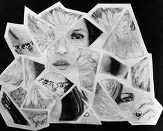 Artsonia Art Museum :: Artwork by Nicole4036, shattered portraits