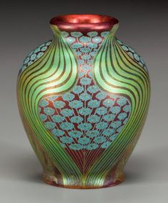 ZSOLNAY ART NOUVEAU CERAMIC CABINET VASE, Circa 1900, marks: ZSOLNAY, PECS (stamped five tower mark), 3 inches high (7.6 cm) 15/E3,5eU
