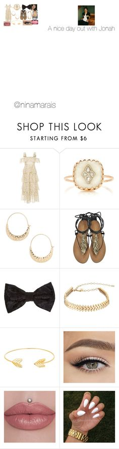 """Nice day out with Jonah"" by ninamarais on Polyvore featuring AlexaChung, Pascale Monvoisin, BP., Roberto Cavalli, Rebecca Minkoff, Lord & Taylor and Gucci"