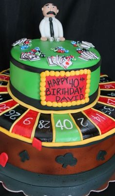 Casino cake! Renee's WICKED Good Cakes (Facebook page)