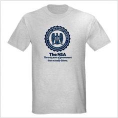 The NSA T-Shirts
