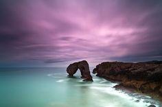 Stunningly Beautiful Scenery off Spanish Coast