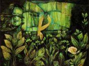 Suad al-Attar (Iraqi, Contemporary, b. 1942): The Garden of Eden, c. 1995-2000.