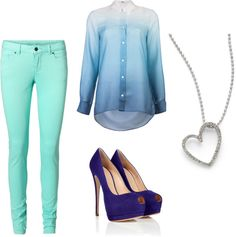 """"""";)"""" by layla-cmxi ❤ liked on Polyvore"""
