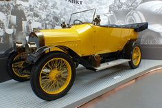Audi 10-28 Typ B yellow 1911 vlt