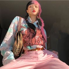 Aesthetic – Page 2 – unzzy Asian Street Style, Korean Street Fashion, Asian Fashion, Quirky Fashion, Aesthetic Fashion, Aesthetic Clothes, Aesthetic Style, Kpop Fashion Outfits, Modest Fashion