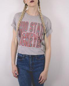 Vintage Ohio State Buckeyes University T Shirt