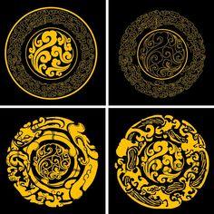 china traditional elements AI