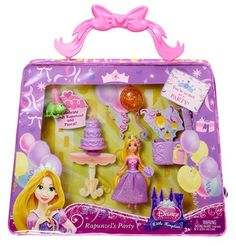 Disney Princess Little Kingdom MagiClip Rapunzel Party Bag by Mattel. $14.99. MagiClip fashions make it easy for little hands to change dresses. The ultimate royal fashion play set. Girls will love reenacting their favorite Disney Princess fairytales. Rapunzel is ready to celebrate in this party-themed collection. Includes doll, character friend, accessories, and play-and-store vinyl bag. From the Manufacturer                Disney Princess Little Kingdom MagiCl...