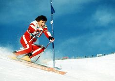 1974 - Franz Klammer in St. Moritz