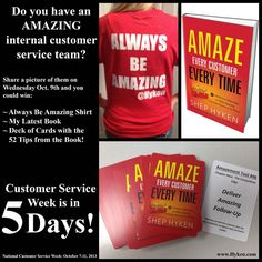 Do you have an Amazing internal customer service team? #Contest