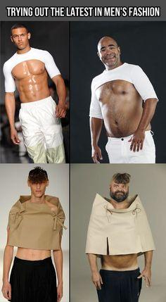 mens fashion... don't think so