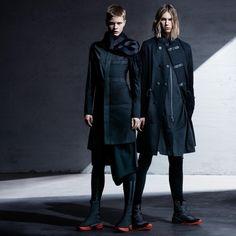 Y-3 FW16.  menswear mnswr mens style mens fashion fashion style y3 yohjiyamamoto adidas campaign look