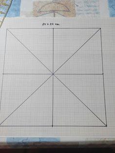 Aprende Patchwork Fácil: Tutorial el Molinillo Quilt Block Patterns, Pattern Blocks, Quilt Blocks, Diy Crafts Hacks, Patch Quilt, Handmade Pillows, Paper Piecing, Sewing Crafts, Free Pattern