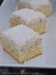 Hungarian Desserts, Cake Bars, Vanilla Cake, Feta, Cheesecake, Muffin, Food And Drink, Cooking Recipes, Cupcakes