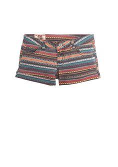 dELiAs > Multi Zigzag Short > shorts > print