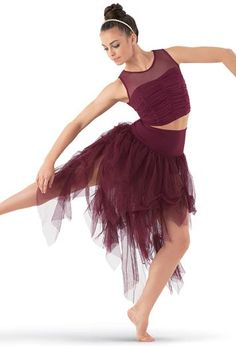 High-Waist Soft Tulle Skirt - Balera - Product no longer available for purchase Dance Recital Costumes, Cute Dance Costumes, Ballet Costumes, Team Costumes, Dance Wear Solutions, Contemporary Dance Costumes, Dance Dreams, Dance Fashion, Dance Outfits