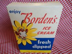 Vintage Borden's Elsie the Cow Carton