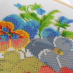 Preciosa beads portraitSeed beads embroidery kitDiy kitCustom portraitBeadwork photo embroideryCustom embroidery pattern