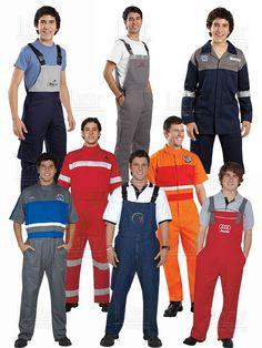 Overoles industriales Camisa F1, Hotel Uniform, Staff Uniforms, Uniform Design, Car Wash, Blue Jeans, Work Wear, Overalls, Jumpsuit