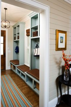 Mudroom/Entry inspiration...