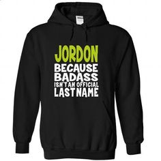 (BadAss) JORDON - personalized t shirts #college sweatshirts #sport shirts