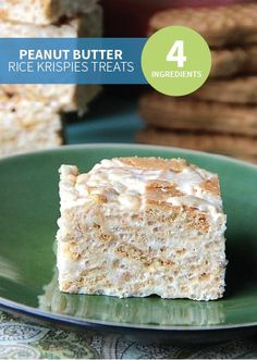 Peanut Butter Rice Krispies® Bars is a 4-ingredient, quick and easy recipe with your kids' favorite peanut butter cream sandwich cookies. This candy-filled treat is perfect for parties!