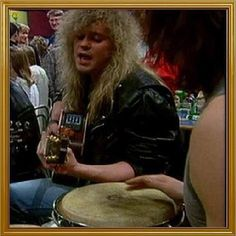 "Screen shot from when Joe & Sav were playing ""Ziggy Stardust."" #RickSavage #DefLeppard"