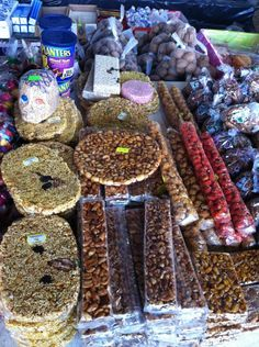 Traditional Mexican Candies...minus the Planters Peanuts lol