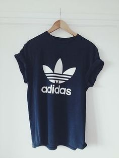 reputable site d0905 5e9aa Adidas Black and White Adidas Sport, Adidas Outfit, Grey Nike Hoodie, Nike  Shirt