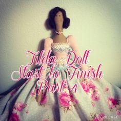 Tilda Doll Start to Finish Part 4 - Stuffing & Legs