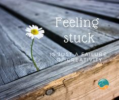 Feeling stuck is just a failure of creativity. What are you resisting? Are you able to step back and choose to be creative rather than remaining stuck in rigid? Feeling Stuck, Life Coaching, Best Self, British Columbia, Mindset, Creativity, Feelings, Attitude, Personal Development