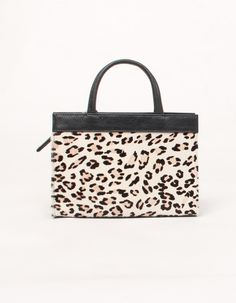 b91d2730c88c Mini Jeanne In Printed Leopard by C.A.B An outfit accent can be all in the  handbag