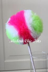 tulle pom pom wand - Google Search