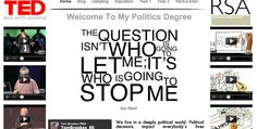 www.mypoliticsdegree.com     My website - essays, degree notes, news from Sheffield Hallam debating society... & more, probably.