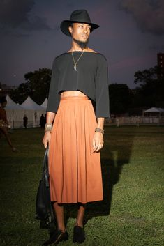 Revelers turned out for the kick-off night of the 11th annual music festival, featuring a performance by Grace Jones.