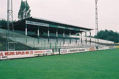 Drill Field, Northwich Victoria FC. 1980s.