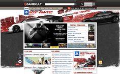 A l'occasion de la Gamescom, découvrez les habillages Need For Speed Most Wanted pour EA sur gamekult.com et jeuxvideo.com