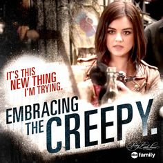 "S6 Ep5 ""She's No Angel"" - Our new life motto: Embrace the creepy.  #PLL #6/30/15"