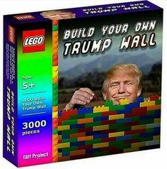 Lego Trump Wall