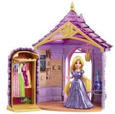 Disney Princess Little Kingdom Magiclip Rapunzel Room Playset. Disney Princess Little Kingdom Magiclip Rapunzel Room Playset. Disney Princess Dolls, Princess Rapunzel, Disney Dolls, Princess Castle, Rapunzel Room, Disney Rapunzel, Disney Fun, Walt Disney, Cool Toys For Girls