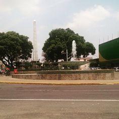 Obelisco, Av. México y Av. Chapultepec