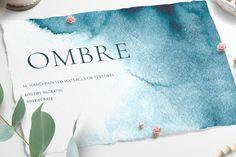Ombre Watercolor Texture ~ Textures ~ Creative Market, graphic design, web design, branding, gradient #ad