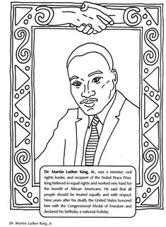 Black History Month Coloring Pages Holiday Coloring Pages